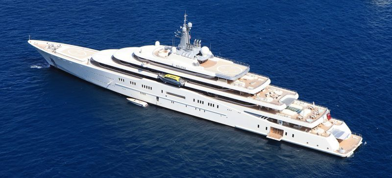 Image 1 for The Best Celebrity Superyachts