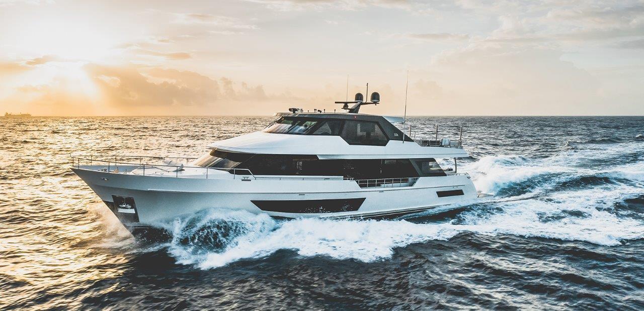 Image 1 for Ocean Alexander Delivers New 32 Meter Legend
