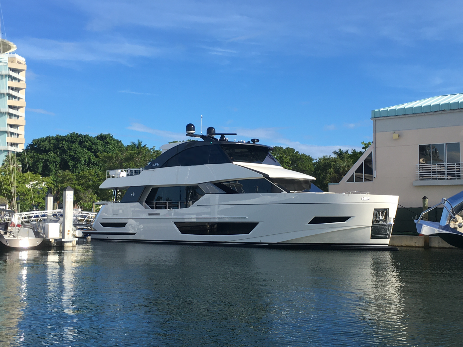 Image 1 for The Next Revolution   - The Ocean Alexander 84R Debuts at FLIBS