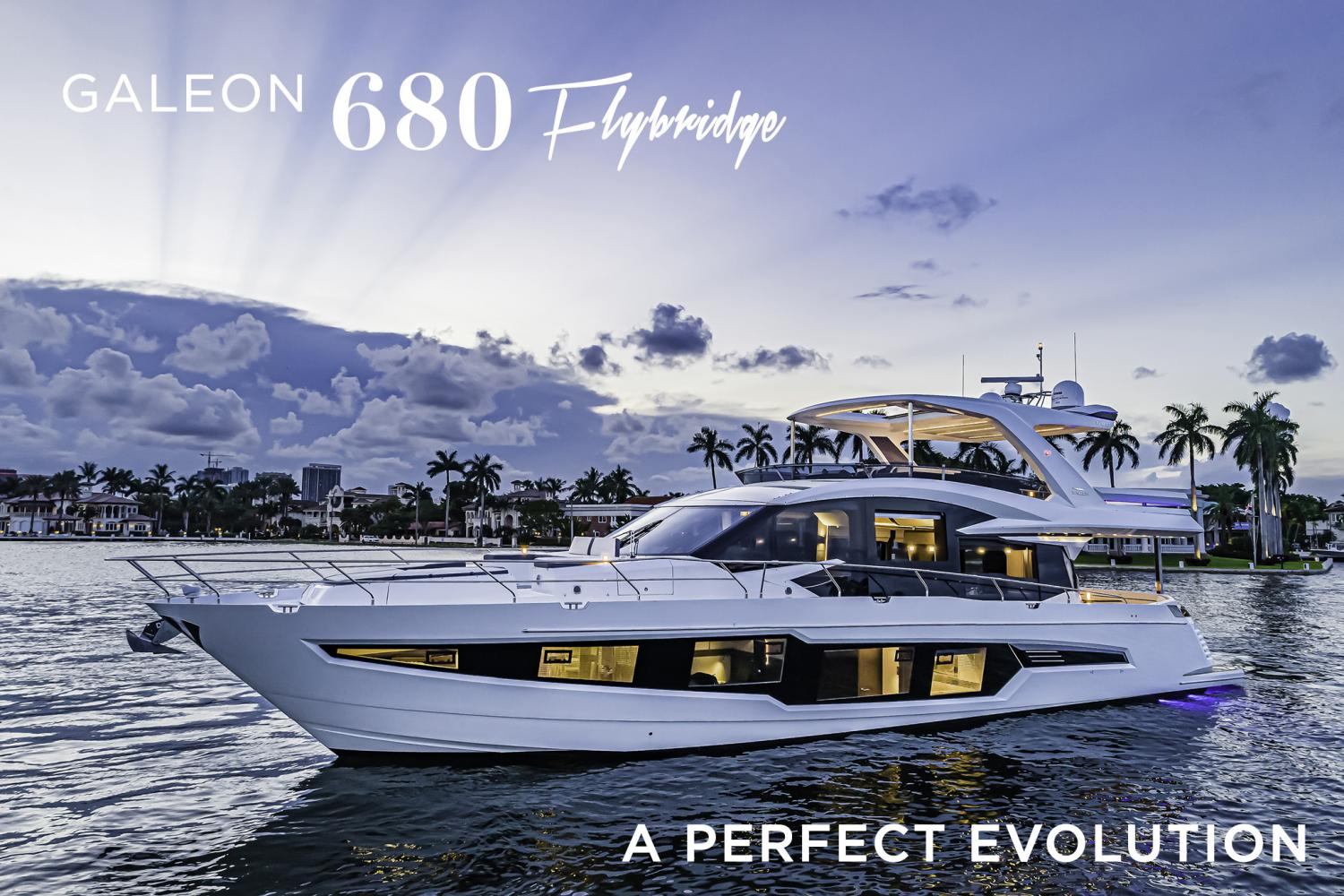 Image 1 for Galeon Yachts new model awarded for design and innovation