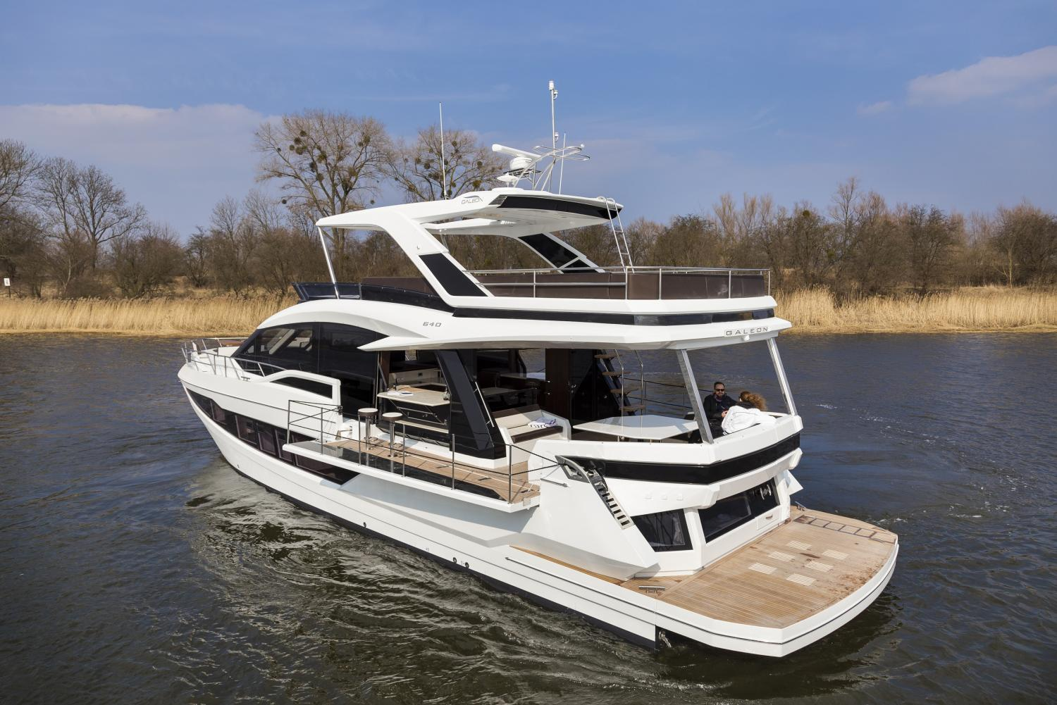 Image 1 for Galeon 640 Fly Wins for Innovation