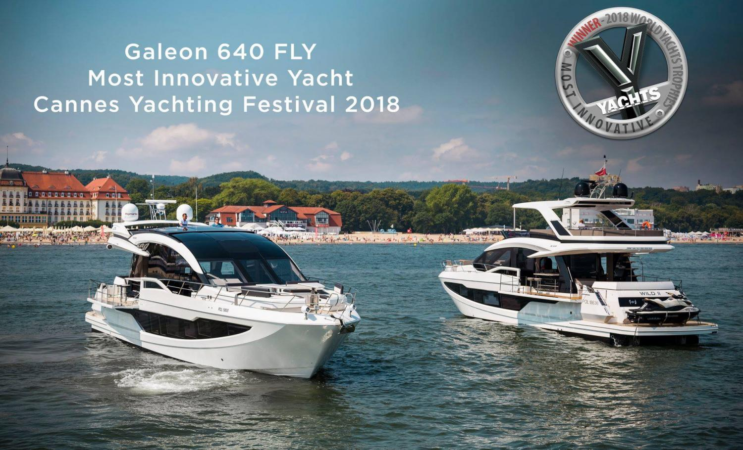 Image 4 for Galeon 640 Fly Wins for Innovation
