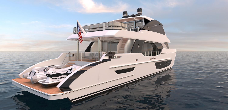 Image 1 for Ocean Alexander Debut Of Three New Models at 2020 FLIBS