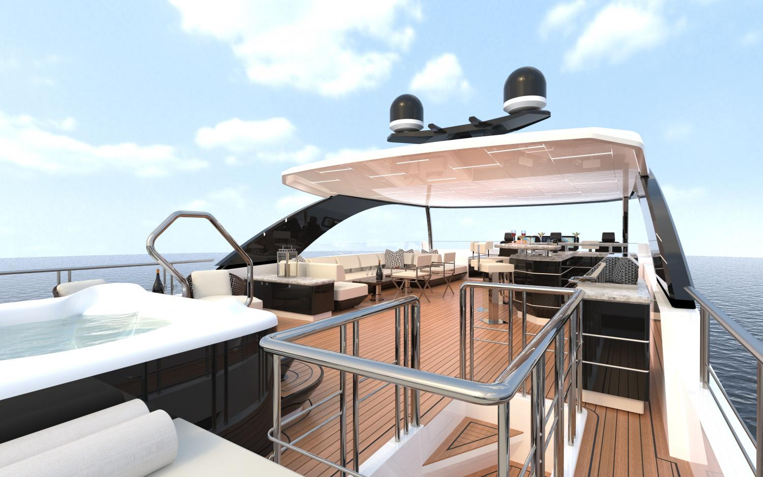 Image 3 for The Next Revolution   - The Ocean Alexander 84R Debuts at FLIBS
