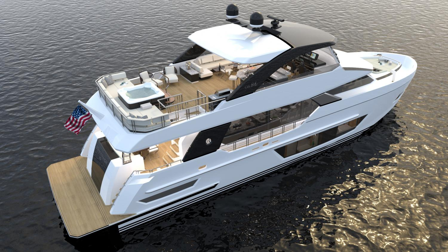 Image 2 for The Next Revolution   - The Ocean Alexander 84R Debuts at FLIBS