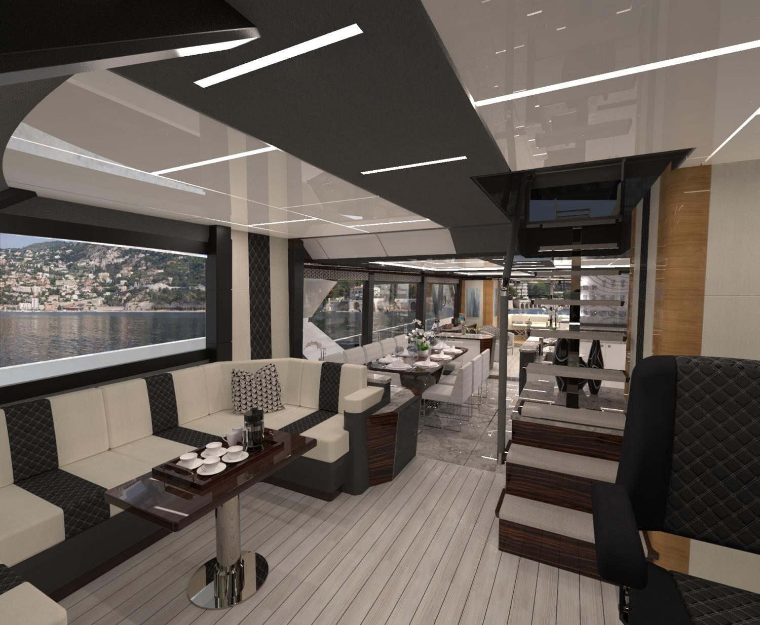 Image 4 for The Next Revolution   - The Ocean Alexander 84R Debuts at FLIBS