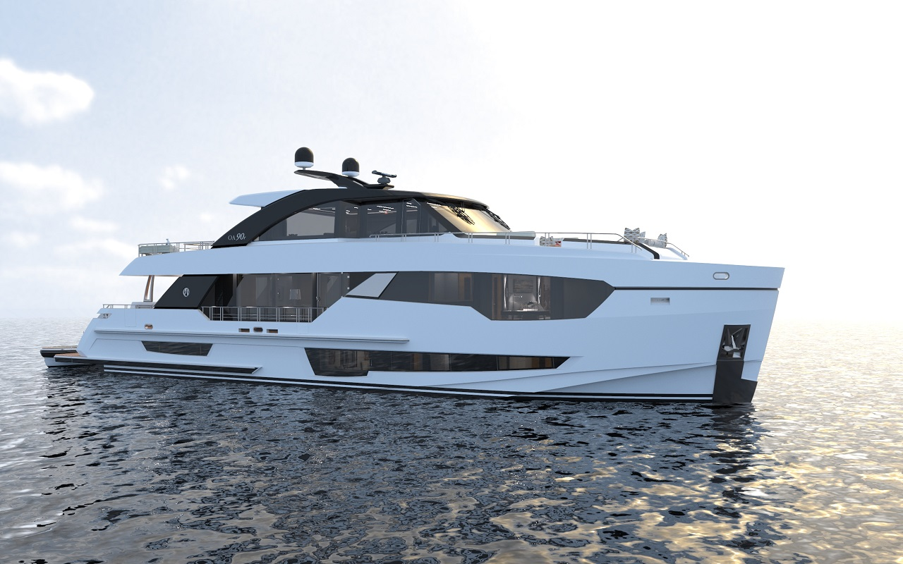 Image 3 for Ocean Alexander 90R World Debut