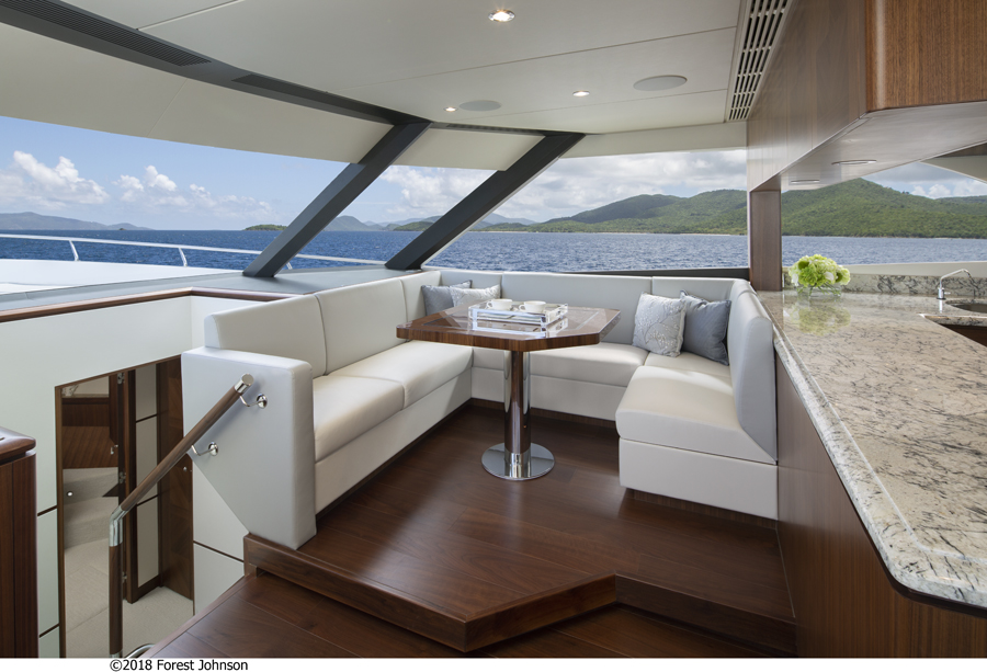 Image 4 for Sky-high Appeal for Supremely Social Superyacht
