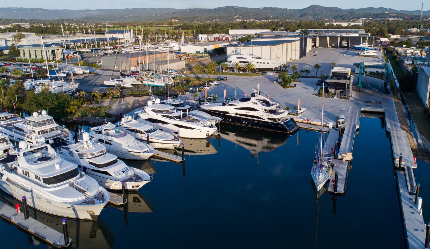 Image 4 for Mayor cuts the ribbon on World-Class Superyacht yard