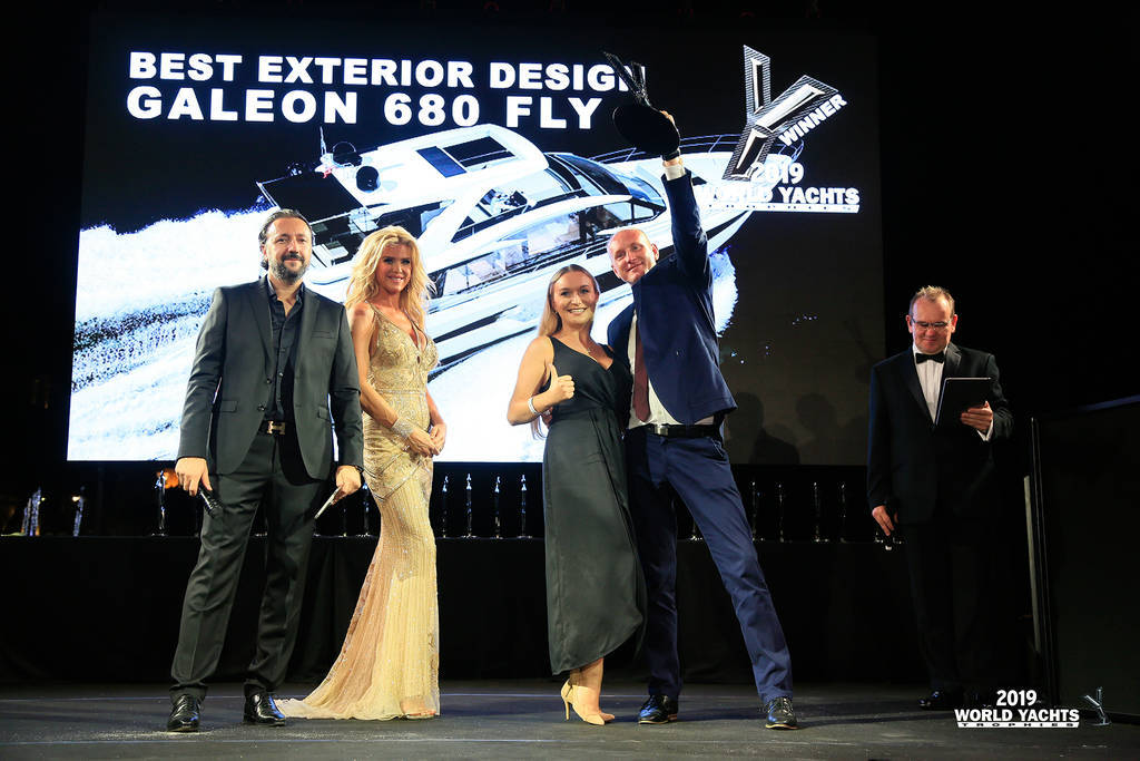 Image 2 for Galeon Yachts new model awarded for design and innovation